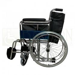 Silla de ruedas standart cromada